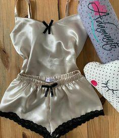 Cute Pjs, Sweet Lady, Bralettes, Pajama Shorts, Fashion Outfits, Womens Fashion, Nightwear, Sexy Lingerie, Baby Dolls