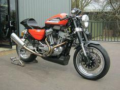 Racing Cafè: Harley XR 1200 Black Angel by Shaw Speed & Custom