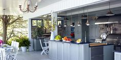 These dreamy chef stations let you whip up summer dishes (and drinks!) all season long.