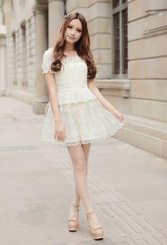 Mango Doll - Chiffon Lace Princess Dress, $47.00 (http://www.mangodoll.com/all-items/chiffon-lace-princess-dress/)