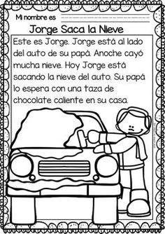 Easy Reading for Reading Comprehension in Spanish Spanish Teacher, Spanish Classroom, Teaching Spanish, Preschool Spanish, Elementary Spanish, Reading Passages, Reading Comprehension, Spanish Sentences, Learn To Speak Spanish