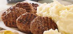 HAMBURGUESAS DE CARNE CASERAS #hamburguesas #carne #recetas