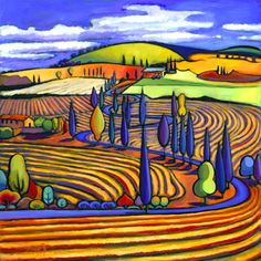artist Daniel Ng, acrylics
