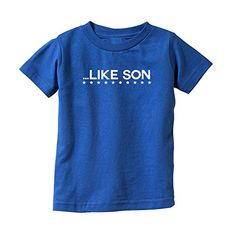 We Match! Like Son (Matches the Like Father Like Son Set) Kids T-Shirt (Royal, Youth XS) We Match! http://www.amazon.com/dp/B01595TF10/ref=cm_sw_r_pi_dp_D8kcwb15HT7PC