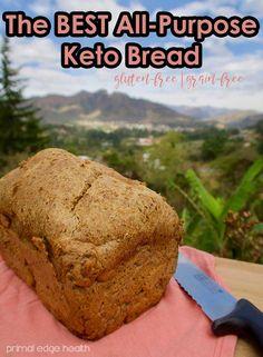 The BEST All-Purpose Keto Bread - Primal Edge Health