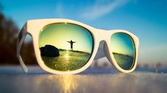 Reflection of Myself by somebodyanywhere Reflection, Sunglasses, Frame, Photography, Board, Picture Frame, Photograph, Photography Business, A Frame