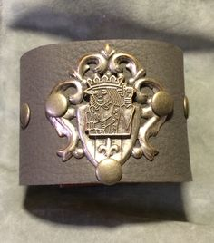 Joxasa king leather cuff.
