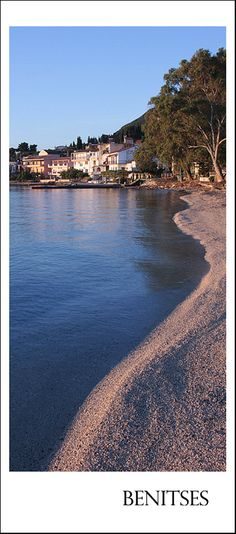 Benitses is a small town near Corfu town, Kerkyra, Ionian Islands_ Greece