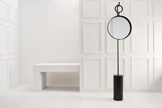 Black Hanging Mirror |  Anna Karlin