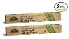 2 rolls- If You Care Parchment Baking Sheets Unbleached Totally Chlorine Free #IfYouCare