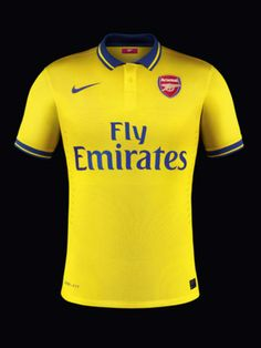 Arsenal jersey de visita