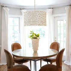 Dining Room Dining Room + Bay Windows Design, Pictures, Remodel, Decor and Ideas - page 3