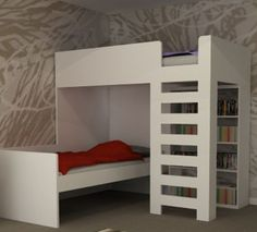 Folkestone  L Shaped Bunk Beds