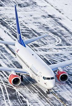 SAS Scandinavian Airlines Boeing 737-783 LN-RRA