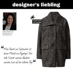 Der September-Liebling unserer Designchefin Jutta: diese Tweed-Jacke im Egg-Shape #zerofashion