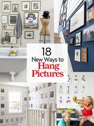 18 ways to hang pict