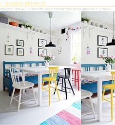 Three Ways: To Add Colour With Dining Chairs – Bright.Bazaar