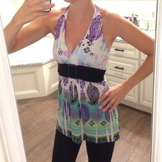 Halter Great condition. Tops