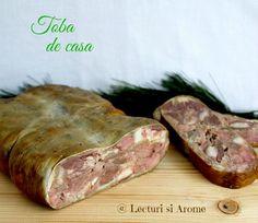 Toba de casa (preparat traditional de Craciun) Charcuterie, Meat Rolls, Romanian Food, Hungarian Recipes, Smoking Meat, International Recipes, Gluten Free Recipes, Bacon, Food And Drink