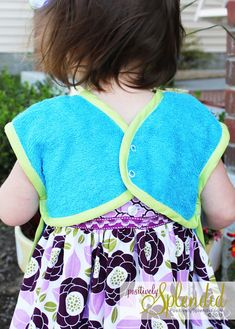Toddler Bib & Smock Pattern | Positively Splendid {Crafts, Sewing, Recipes and Home Decor}