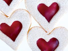 Use any cookie cutter shapes you want to create cut-out raspberry-filled sugar cookies.