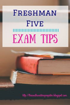 Freshman Five: Studying for Exams: Five great tips to help you pass your college exams College Test, College Success, College Hacks, Education College, College Life, College Binder, College Years, Dorm Life, Study Skills