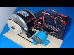 Free energy generator 2019 , How to make free energy from DC motor , wow amazing idea 2019 - Smart Engineering Motor Generator, Diy Generator, Homemade Generator, Propane Generator, Diy Electronics, Electronics Projects, Water Turbine, Solar Energy Projects, E Motor