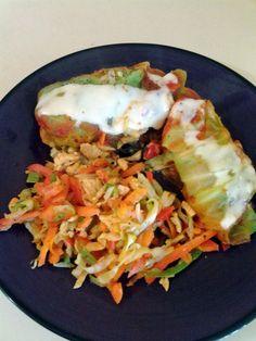 17 Day Diet Gal: Stuffed Cabbage with Chicken (C1)