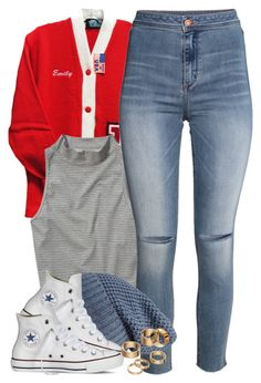 """""""Fall Set 9 6 15"""" by miizz-starburst ❤ liked on Polyvore featuring Abercrombie & Fitch, H&M, Forever 21, Converse and Apt. 9"""