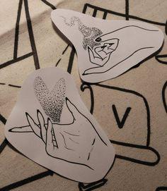 Hands hands hands. #uvethekid #queer #qttr #queertattooer #lgbtq #feministtattoo #feminist #apprenticetattoo #tattoo #tattoobarcelona #londontattoo #illustration #linework #dotwork #identity #darkartists #flashworkers (at Brixton)
