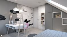 Pokój dziecka styl Nowoczesny - zdjęcie od A2 STUDIO pracownia architektury - Pokój dziecka - Styl Nowoczesny - A2 STUDIO pracownia architektury