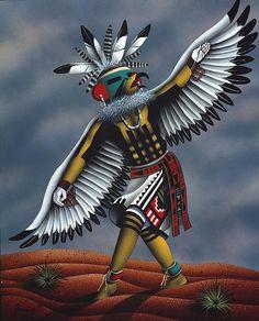 recipe: hopi eagle dancer kachina [18]