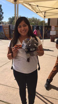 National Student Day Snapchat Scavenger Hunt Winner 10.8.2015 #CSUF #TitanShops #CalStateFullerton