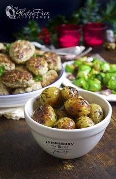 You'll need: About 5 potatoes per person; small ones, the ones that can fit…