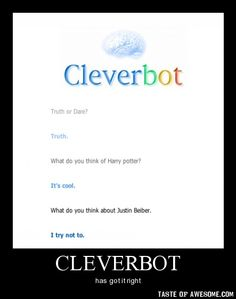 i love cleverbot!