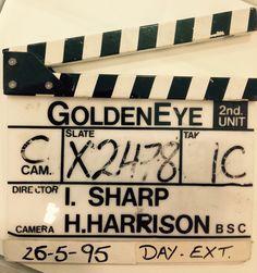 007 Goldeneye clip board