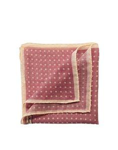Reiss Winehouse Model Polka Dot Pocket Square