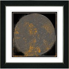 Luna by Zhee Singer Framed Fine Art Giclee Painting Print