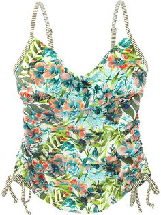 2d7da79b95 Mahalo Tankini Top - Cargo Bali print. Tankinis. Active swimwear. Pattern.  Cute