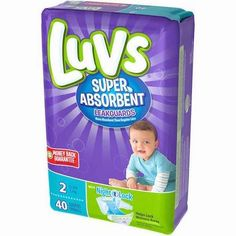 NEW! $2.00 Off One Luvs Diapers With Printable Coupon!