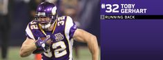 Toby Gerhart - Running Back