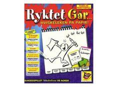 Ryktet Går Brettspill - Norsk utgave Årets selskapsspill Terningkast 6 VG - Gamezone.no