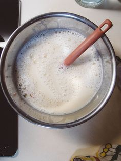 Diluted soy milk mordant - how to mordant with soy