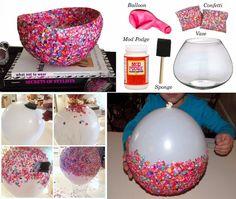 Confetti Bowl Tutorial | DIY Cozy Home