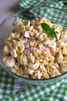 Tortellini, Prosciutto, Pasta Salad, Snack Recipes, Ethnic Recipes, Food, Pineapple, Salads, Crab Pasta Salad