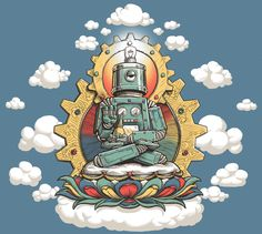 John Sumrow Buddha-Bot