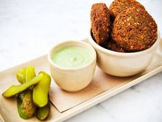 Falafel is much simpler to make than many think. These easy chickpea patties are a perfect meat-free, low-effort meal. See the recipe at: http://au.lifestyle.yahoo.com/food/recipes/recipe/-/11649735/falafel/#