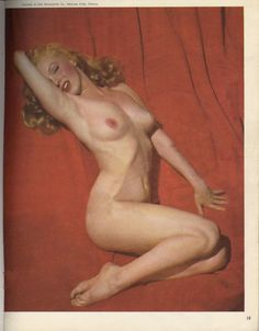 Marilyn Monroe's nude photo for Playboy (1953)