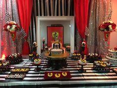 Ferrari Birthday Party Ideas   Photo 8 of 14   Catch My Party