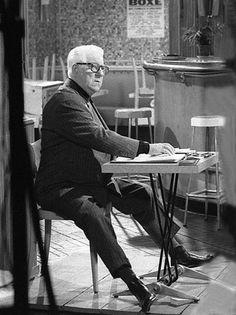 Jean Gabin,  photo de Chiara Samugheo.
